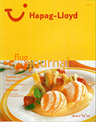 Hapag Lloyd Flugzeitschrift